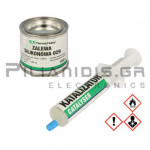 Silicone for encapsulating Grey (Density: 1,8 g/cm³) Two-Component  100gr