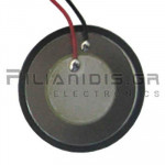 Piezoelectric without built-in generator 35mm(20mm)  1.25KHz 30V with Cable