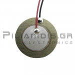 Piezoelectric without built-in generator 15mm(10mm)  6.0KHz