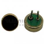 Electret Condenser Microphones; 50-12000Hz; -42±3dB; Ø4,0x1,5mm; PC pins