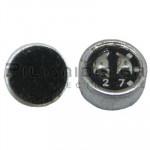 Electret Condenser Microphones; 20-16000Hz; -42±3dB; Ø6,0x2,7mm
