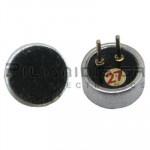Electret Condenser Microphones; 20-16000Hz; -42±3dB; Ø6,0x2,7mm; PC pins