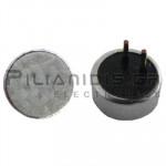 Electret Condenser Microphones; 20-16000Hz; -42±3dB; Ø6,0x2,7mm; PCB IP67