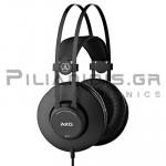 Wired Headphones Stereo 18Hz - 20KHz  112dB/32Ω 2.5m Black