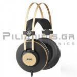 Wired Headphones Stereo 16Hz - 22KHz  113dB/32Ω 3.0m Black