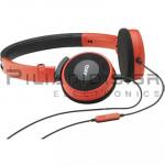 Ακουστικά Stereo 13Hz - 27KHz 115dB/32Ω 1.2m + MIC Κόκκινο