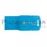 USB Stick 2.0 Flash Drive Waterproof 16GB Μπλέ