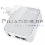 TP-LINK USB 150MB ΑΣΥΡΜΑΤΟ LAN ΜΕ ΚΕΡΑΙΑ