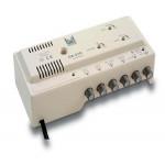 ALCAD ΕΝΙΣΧΥΤΗΣ ΚΕΝΤΡΙΚΟΣ  VHF(35dB) - 2χUHF(42dB) / 2 ΕΞΟΔΟΙ