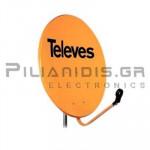 TELEVES 7456 ΚΑΤΟΠΤΡΟ 0.85μ ΠΟΡΤΟΚΑΛΙ