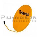 TELEVES 7571 ΚΑΤΟΠΤΡΟ 1.05Μ ΠΟΡΤΟΚΑΛΙ