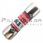 Fuse Fast-Acting 10,3x34,9  1A 600VAC