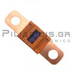 Automotive Fuse 58V  30A  12x41mm Orange