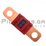 Automotive Fuse 58V  50A  12x41mm Red