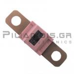 Automotive Fuse 58V 125A  12x41mm Pink