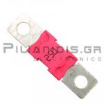 Automotive Fuse 32V 250A  16,3x67,3mm Pink