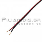Loudspeaker Cable, black-red 2x0,50mm