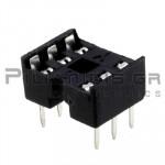 IC socket  6-pin  7,62mm