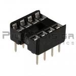 IC socket  8-pin  7,62mm