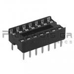 IC socket 14-pin  7,62mm