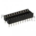 IC socket 22-pin  7,62mm