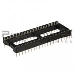 IC socket 40-pin 15,24mm