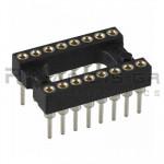 IC socket 16-pin βάση ακριβείας  7,62mm