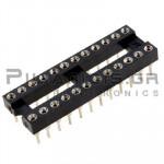 IC socket 24-pin βάση ακριβείας  7,62mm