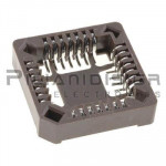 Ic Socket PLCC SMD 28 pin Solder temp. +260℃C for 10s