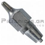 Μύτη Desoldering DX113   Ø2.5/ Ø1.2mm για WS81 - WSD81 - WD1000