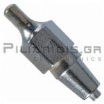 Μύτη Desoldering DX114  Ø3.3/Ø1.8mm για WD81 - WSD81 - WD1000