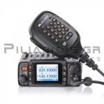 Πομποδέκτης Amateur Αυτοκινήτου VHF/UHF 144-146MHz* 25W