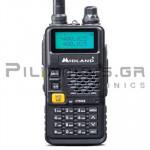 Πομποδέκτης Amateur VHF/UHF 144-146MHz*/430-440MHz* 6W (Li-ion 1500mA)