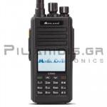 Πομποδέκτης Amateur VHF/UHF 144-146MHz*/430-440MHz* 10W (Li-ion 2800mA) IP67