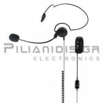 Bluetooth Μικρόμεγαφωνο + PTT/VOX & Volume Control
