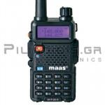 Πομποδέκτης Amateur VHF 144-146MHz* 5W (Li-ion 1500mA)