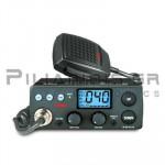 CB Αυτοκινήτου 40Ch* AM/FM 4W + Μικρόφωνο 4pin