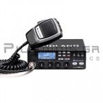 CB Αυτοκινήτου 400Ch AM/FM 4W + Μικρόφωνο UP/DOWN 6pin