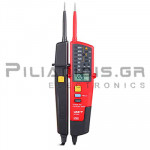 Voltage Detector with LED/LCD  8-690VAC/dc (CATIV 600V) IP65