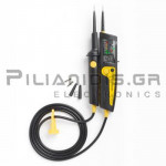 Voltage Tester with LED/LCD  6-1000VAC / 1200dc (CATIII 1000V) IP64