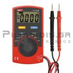 Πολύμετρο Ψηφιακό Τσέπης 600VAC/dc, Ω, F, Hz