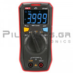 Multimeter Digital 600VAC/dc, Ω, ?, NCV