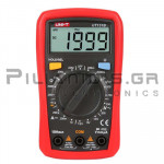 Multimeter Digital 250VAC/dc, Ω, Battery Tester