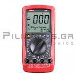 Πολύμετρο Ψηφιακό 600VAC/dc, Ω, F