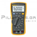 Multimeter Digital True-RMS (600V & 10A AC/DC)