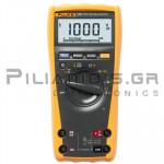 Multimeter Digital 3-1/2 True-RMS (1000V & 10A AC/DC) with Backlight & Temp 400℃C