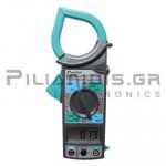 Clamp meter Digital AC (1000VDC / 750VAC & 1000A AC) & Ω