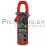 Clamp meter Digital AC-DC (600V & 400A AC/DC) + Ω, Hz, ℃C