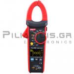 Clamp meter Digital OLED AC-DC (1000VDC / 750VAC & 600A AC/DC) + Capacitance, Ω, Hz, ℃C