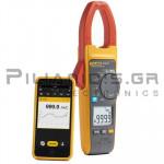 Clamp meter Digital AC-DC (1000V & 1000A AC/DC) + Capacitance, Ω (+ Probe  iFlex18 / 2500A)